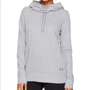 Under Armour Women's French Terry Open Back Warmer